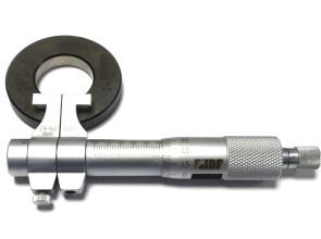 Микрометр для внутренних измерений I.D.F. 25-50мм ( ±0,010мм) нониусный. Италия