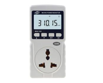 Измеритель параметров потребления электроэнергии Benetech GM86 (до 10А)