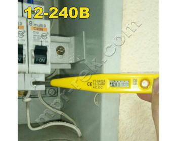 Индикаторная отвертка YINTE YT-0402A с ЖК дисплеем и индикатором