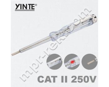 Индикаторная отвёртка YINTE YT-0407 (AC100-500В)
