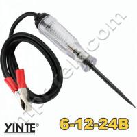 Автомобильный индикатор напряжения YINTE YT-0426 (6-12-24В) с отстрым жалом