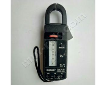 Клещи токоизмерительные аналоговые SUNWA 2806 (AC600A, AC600В, 2кОм)