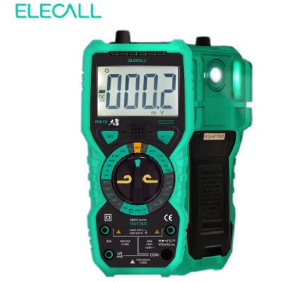 Мультиметр ELECALL МК 72 (True RMS, DC/AC, NCV) с термопарой и фонариком