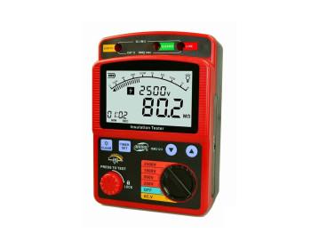 Мегаомметр Benetech GM3123 измеритель сопротивления изоляции до 100 ГОм