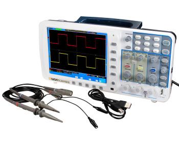 Осциллограф OWON SDS7102 (100 МГц, 2 канала, 1 ГВ/с) с аккумуляторной батареей