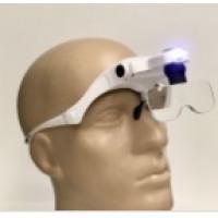 Бинокулярные лупа-очки со светодиодной подсветкой ТН-9203 Magnifier Китай
