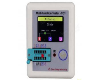 Многофункциональный тестер компонентов TC1-V2.12k с графическим дисплеем TFT.