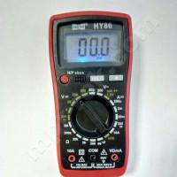 Мультиметр цифровой HAOYUE HY86 (500В, 10А, 2МОм, hFE, тест батарей, прозвонка)