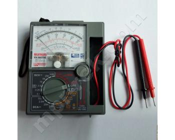 Мультиметр аналоговый SUNWA YX-360TRD (1000В, 250мА, 200МОм, hFE) со встроеными щупами