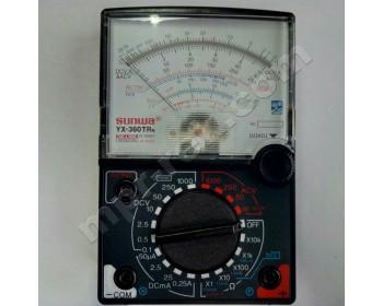 Мультиметр аналоговый SUNWA YX-360TRN (1000В, DC250мA, 20МОм, hFE, прозвонка)