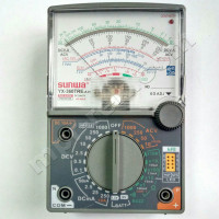 Мультиметр аналоговый SUNWA YX-360TRE-A-H (1000В, DC10A, 20МОм, hFE, тест батарей, звуковая прозвонка)