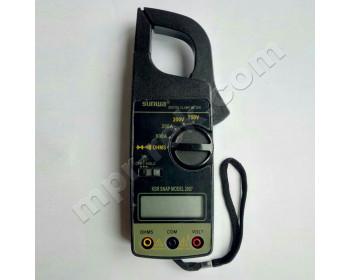 Клещи токоизмерительные цифровые SUNWA 2007 (AC600A, AC750В, 200Ом, Ø30мм, звуковая прозвонка) - 1107693542 - Фото - 1