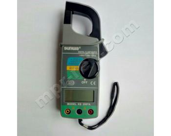 Клещи токоизмерительные цифровые SUNWA 2007A (AC600A, AC750В, 400Ом, Ø30мм, звуковая прозвонка)