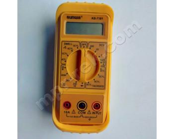 Мультиметр автомобильный цифровой SUNWA KS-7181