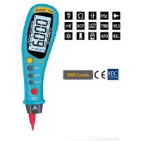 Мультиметр ZOTEK ZT203 (напряжение, сопротивление, ёмкость, частота, тестирование диодов, прозвонка, NCV)
