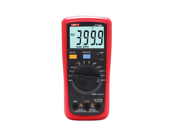 Мультиметр цифровой UNI-T UT136B+ (AC/DC 1000 В; 40 МОм; 10 А; 4000 отсчётов)