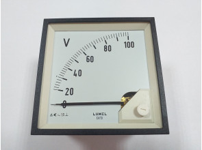 Аналоговый вольтметр LUMEL EA 19N E611 100V. Польша