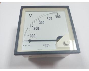 Аналоговый вольтметр LUMEL EA 19N E615500V. Польша