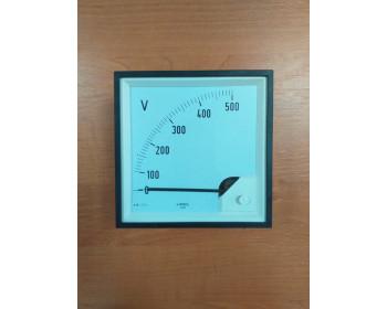 Аналоговый вольтметр LUMEL EA 12N E615500V. Польша - 1107693578 - Фото - 1