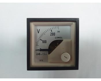 Аналоговый вольтметр LUMEL EA 16N E613250V. Польша