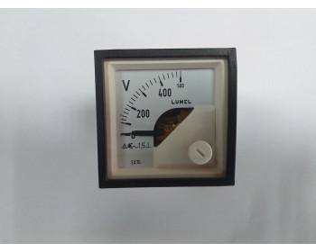 Аналоговый вольтметр LUMEL EA 16N E615500V. Польша