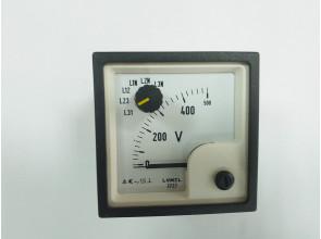 Аналоговый вольтметр LUMEL EP27N E615 500V Польша