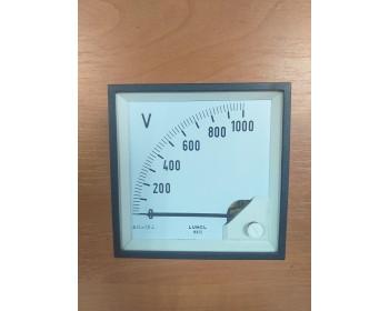 Аналоговый вольтметр LUMEL MA19N A618 1kV Польша - 1107693596 - Фото - 1