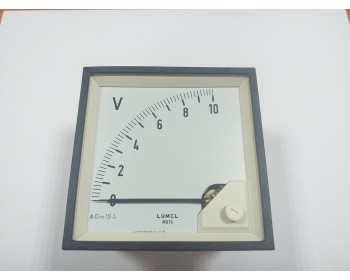 Аналоговый вольтметр LUMEL MA 19N A606 10V Польша