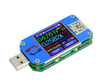 Многофункциональный USB-тестер RuiDeng UM25C с Bluetooth