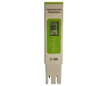 Комбинированный TDS/EC/SALT/S.G./Temp - метр - С-100