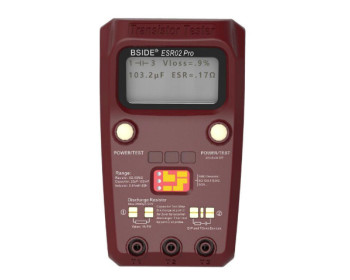 Профессиональный тестер электронных компонентов BSIDE ESR02 PRO