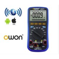 Мультиметр OWON B35T+ (напряжение, ток, сопротивление, ёмкость, температура) +Bluetooth, +TrueRMS