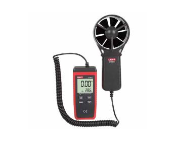 Анемометр UNI-T UT363S (от 0,4 м/с до 30 м/с; ±0,01 м/с; от -10ºC до 50ºC)
