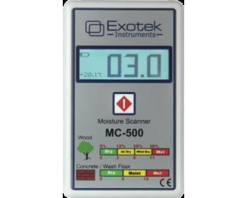 Бесконтактный влагомер дерева и строительных материалов Exotek MC-500N (0- 59.8%) Германия