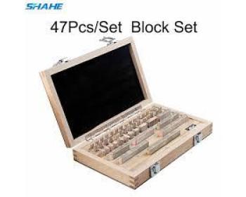 Концевые меры длины Shahe Block-47  (1-100мм/0 класс точности) - 47 шт