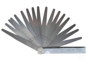 Набор щупов для измерения зазоров JC W2868B 17 (0,02-1.00) 17 щупов 100 мм - 1286033587 - Фото - 1