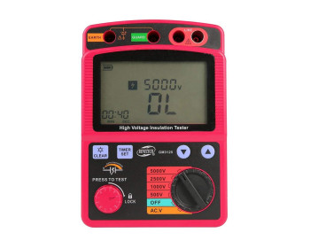 Мегаомметр Benetech GM3125 измеритель сопротивления изоляции до 1000 ГОм   Цена С НДС - 1315477232 - Фото - 1
