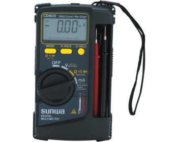 Мультиметр цифровой SUNWA CD800 (600В, 320мA, 32МОм, звуковая прозвонка)