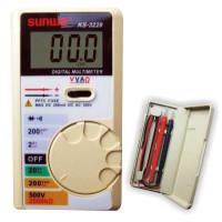 Мультиметр цифровой SUNWA KS-3228 (500В, 200мA, 2МОм, тест диодов, звуковая прозвонка)