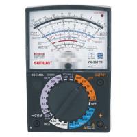 Мультиметр аналоговый SUNWA YX-361TR (1000В, 250мA, 20МОм, hFE, тест батарей, прозвонка)