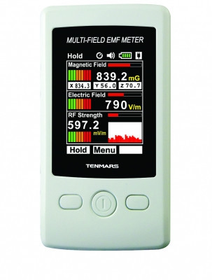 Тестер интенсивности электромагнитного излучения Tenmars TM-190