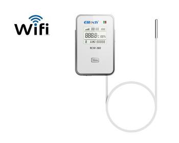 Регистратор данных температуры и влажности Elitech RCW-360 Wi-Fi  (-40℃...80℃; 0%...99%; 32,000 точек)