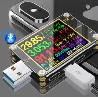 USB тестер Т18 + нагрузочный резистор 1А/2А