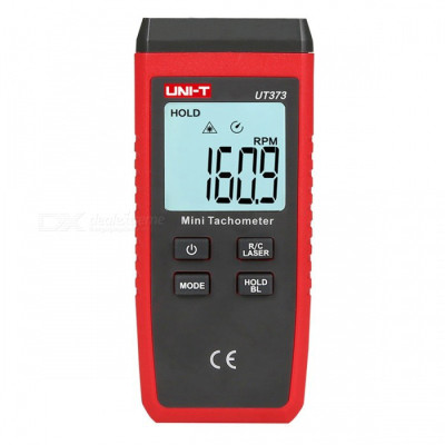 Лазерный бесконтактный тахометр UNI-T UT373 (50-200 мм) (10-99999 об/мин)