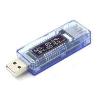 USB тестер KEWEISI KWS-V20  (вольтметр, амперметр, мАч)