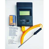 Цифровой термометр TM-902CC с термопарой К-типа (100 мм) (от -50°C до +1300°C)