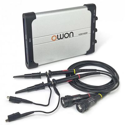 Осциллограф - приставка OWON VDS1022i 25 МГц, 2 канала (гальваническая развязка по питанию)