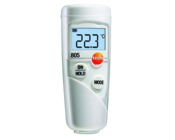 Миниатюрный пирометр Testo 805 (-25…+250 °C; ±1 °C) DS:1:1. EMS 0.95. Германия. Сертифицированы HACCP