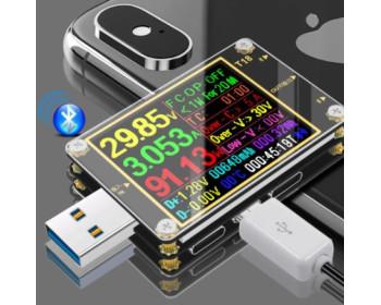 USB тестер Т18 + нагрузочный резистор 1А/2А и термодатчик