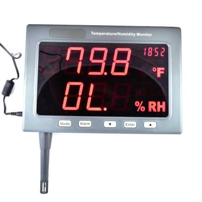 Настінний термогігрометр EZODO HT-360D (TM-185D)